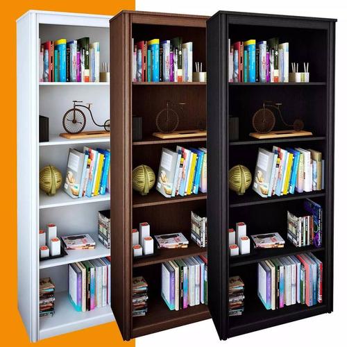 excelente combo! 3 modulos biblioteca con puertas - bodegero