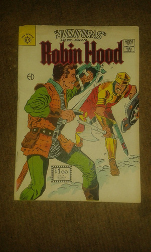 excelente comic de: aventuras robin hood #278