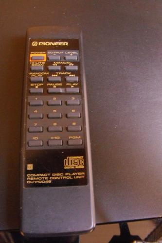 excelente compactera pioneer pd 204 con remoto