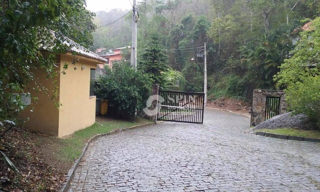 excelente condomínio, bairro nobre de niterói, na vila progresso, lotes de 1.000m² ,à 1.200 metros da principal - te0052