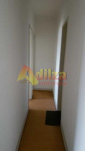 excelente condomínio e apto com varanda, 2 qtos, dep. comletas e 1 vaga. - tiap20027