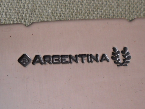 excelente cuchillo hoja argentina 15 cms ac carbono cuchillo