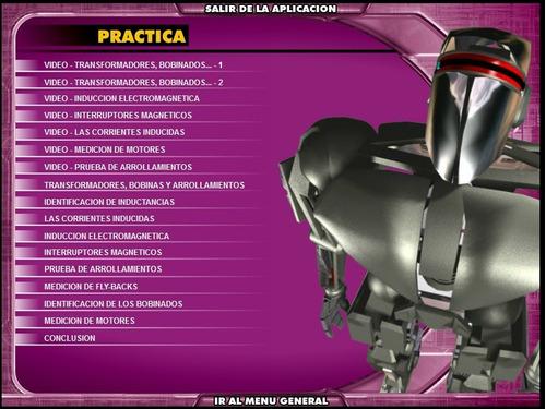 excelente curso multimedia de electrónica 6 cd.