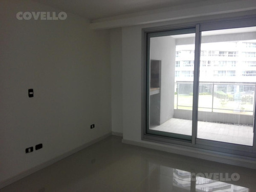 excelente departamento con amenities y cochera - playa brava
