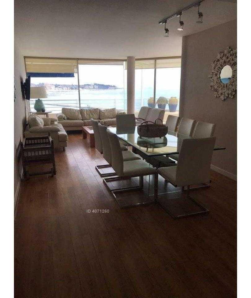 excelente departamento con inmejorable vista en condominio san alfonso del mar algarrobo