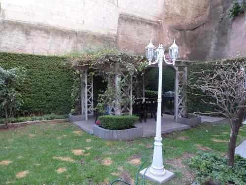 excelente departamento con jardín en hacienda de las palmas