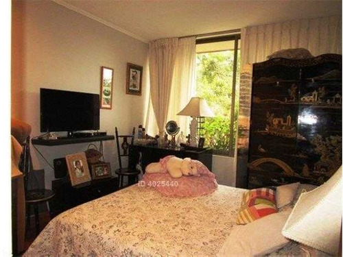 excelente departamento de 4 dormitorios en cerro el plomo / nuestra señora del rosario