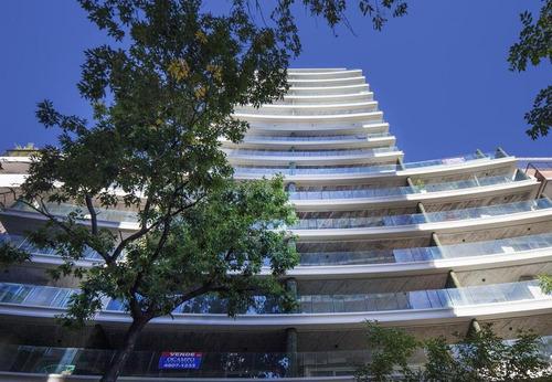 excelente departamento en barrio norte 3 ambeintes en edificio de categoría a estrenar premium