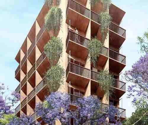 excelente departamento en pre-venta de 75 m2 en roma norte.