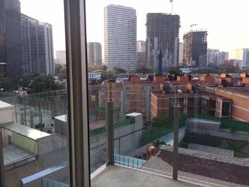 excelente departamento en renta con balcón