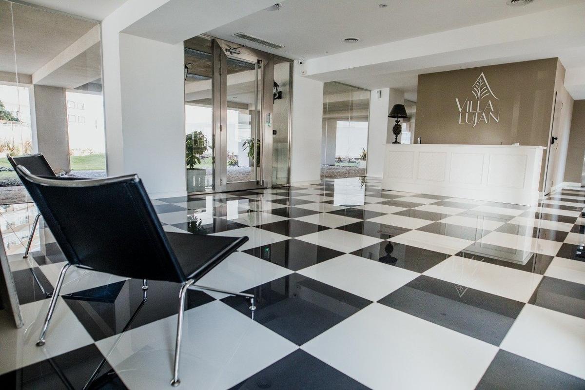 excelente departamento en venta - edificio villa luján