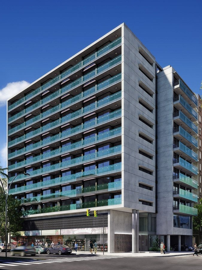 excelente depto 2 dormitorios - edificio de esquina - ubicacion y diseño