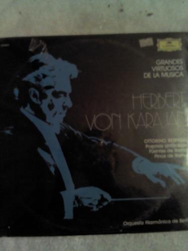 excelente disco acetato de: herbert von karajan