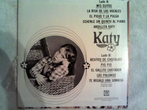excelente disco acetato de: katy