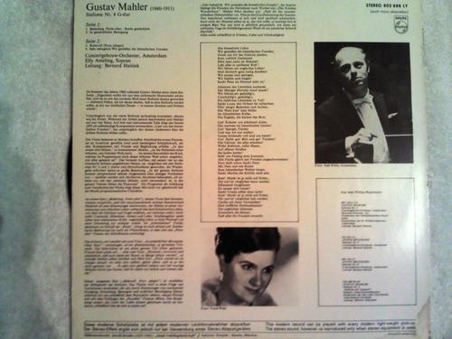 excelente disco acetato de: mahler