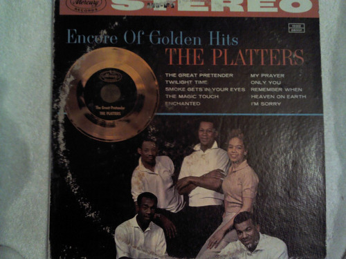 excelente disco acetato de: the platters
