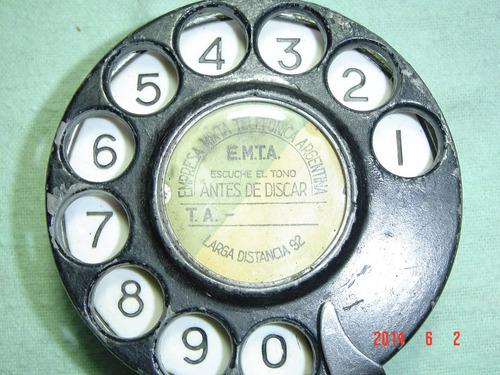 excelente disco marcador para teléfonos antiguos aut 500