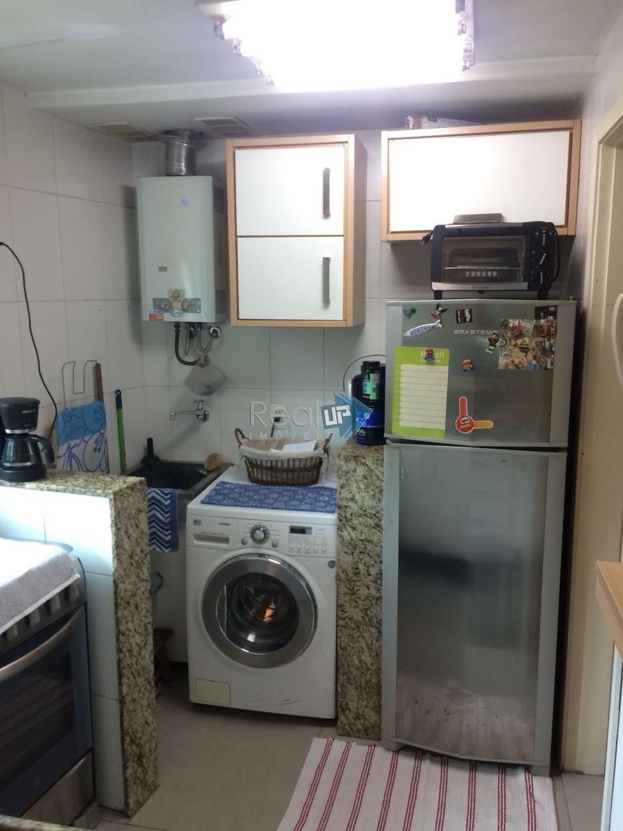 excelente duplex com 2 quartos e infra estrutura no leblon - 11674