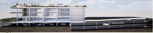 excelente espacio en renta para oficinas de 1680 m2 en tlalpan