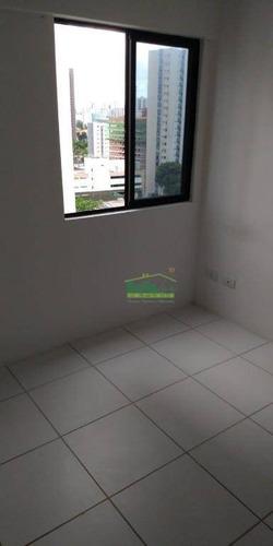 excelente flat em casa forte, andar alto! - ap1290
