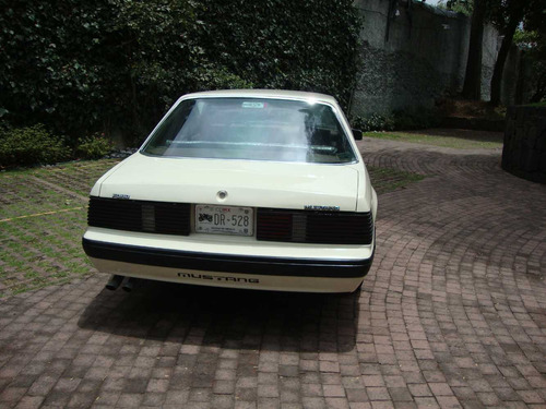 excelente ford mustang hard top 1982 placas  auto antiguo