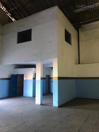 excelente galpão 850 m² em são miguel paulista - ga0481