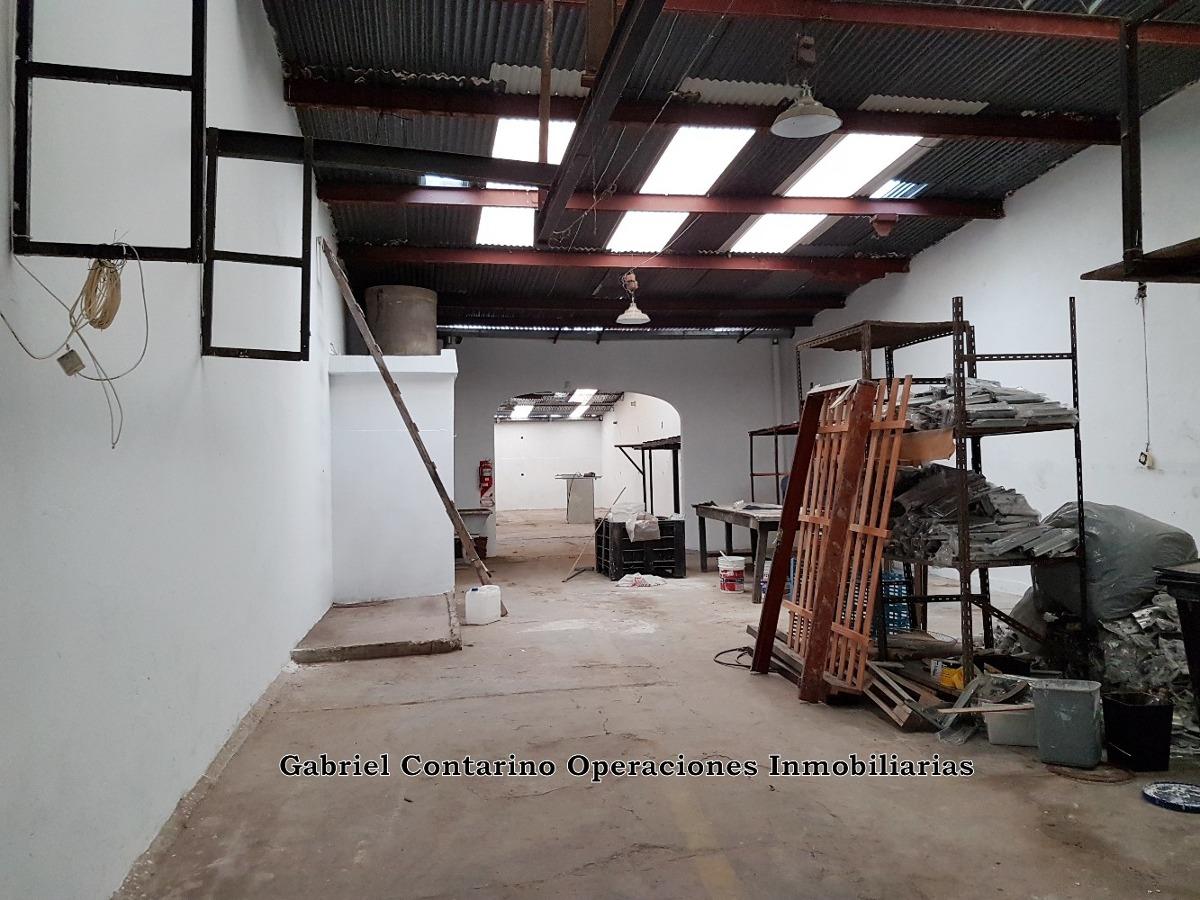 excelente galpón 330 m2 - alquilado - con renta
