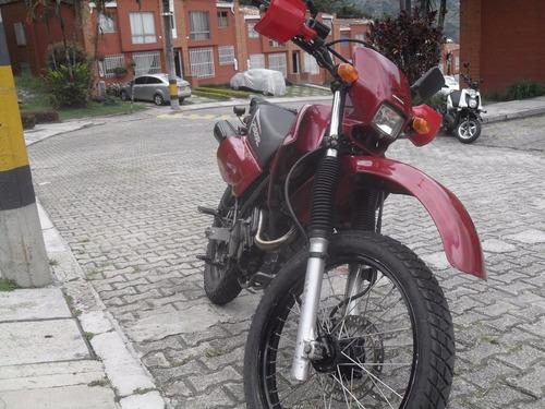 excelente honda xl 200 roja modelo 2003
