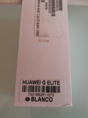 excelente huawei g elite, perfectas condiciones, libre
