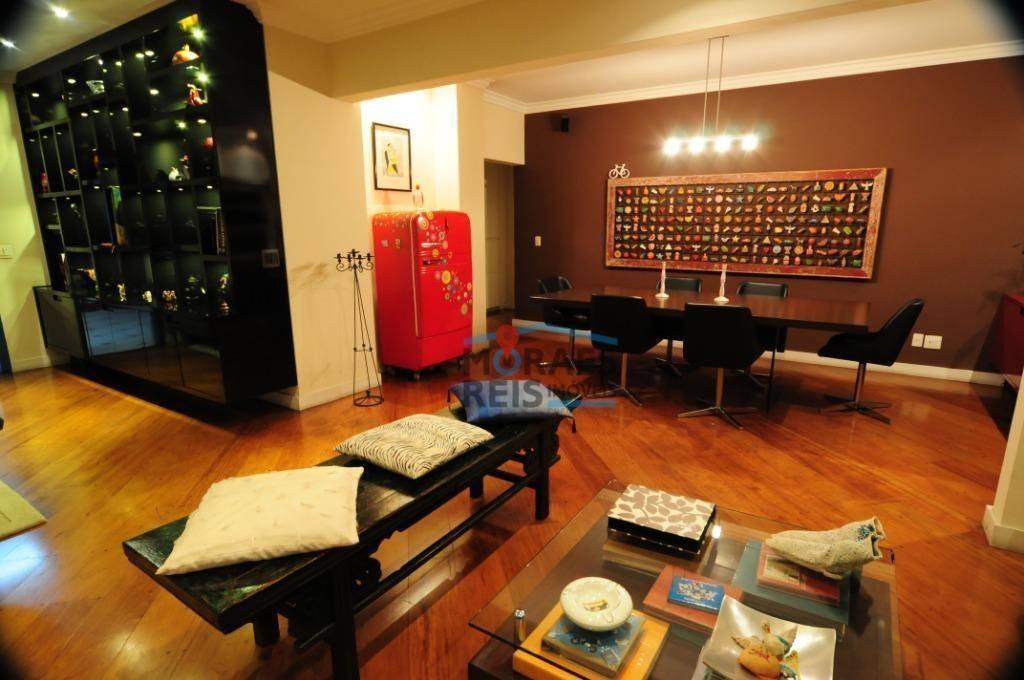 excelente imóvel no coração do jardim américa. apartamento com 3 dormitórios à venda, 300 m² por r$ 3.500.000 - jardins - são paulo/sp - ap14958