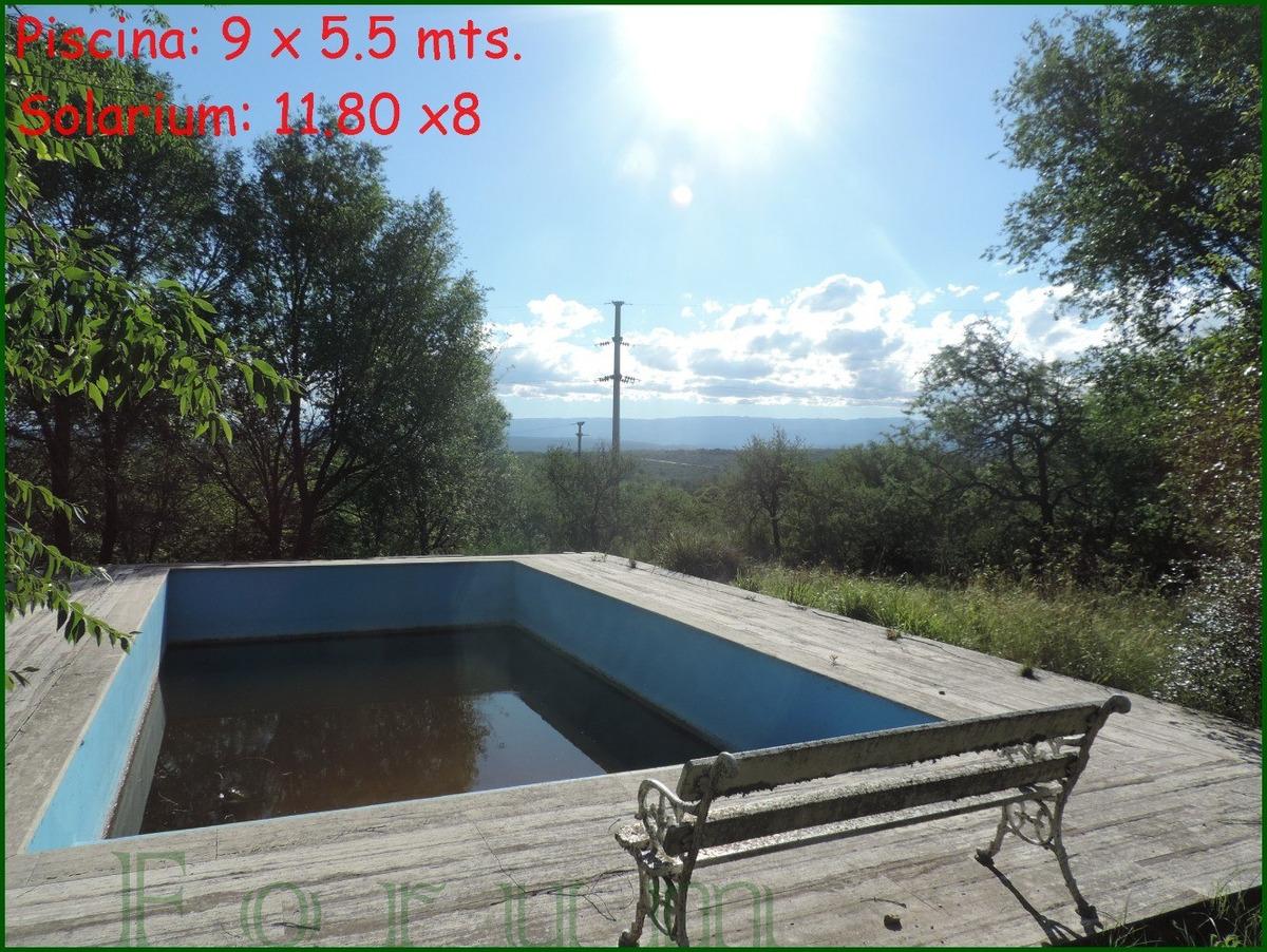 excelente inversión, casa sta rosa de calamuchita, 12.000 mt