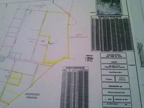 ¡¡excelente inversion!! macro lote de 10.7 hectareas en san jose el alto.