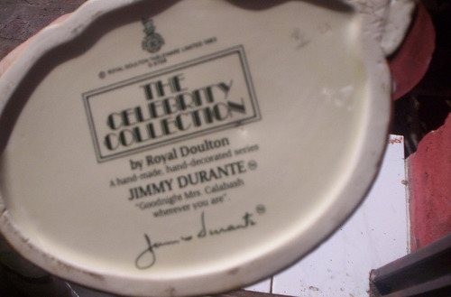 excelente jarra royal doulton jimmy durante large