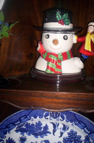 excelente jarra royal doulton  muñeco de nieve large