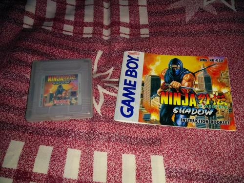 excelente juego de ninja para gameboy clasico