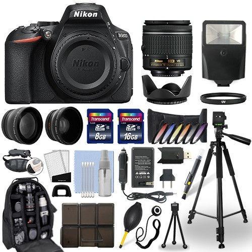 excelente kit nikon d5600 dslr camera + 18-55mm