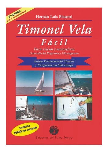 excelente libro timonel vela facil de biassotti