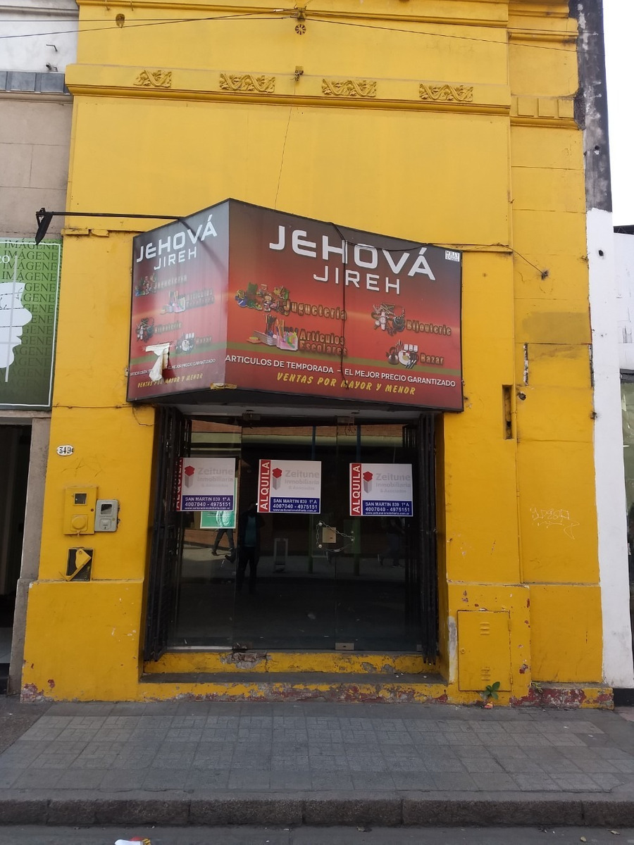 excelente local comercial microcentro junin 349