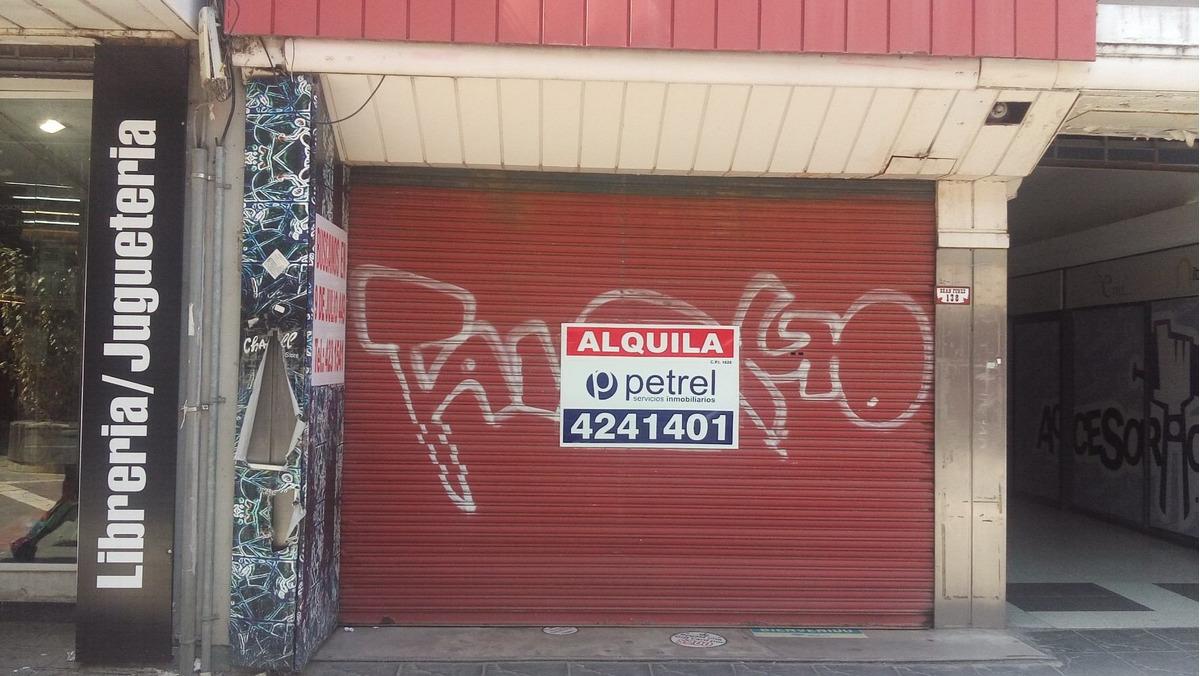 excelente local comercial - proximo plaza san martin