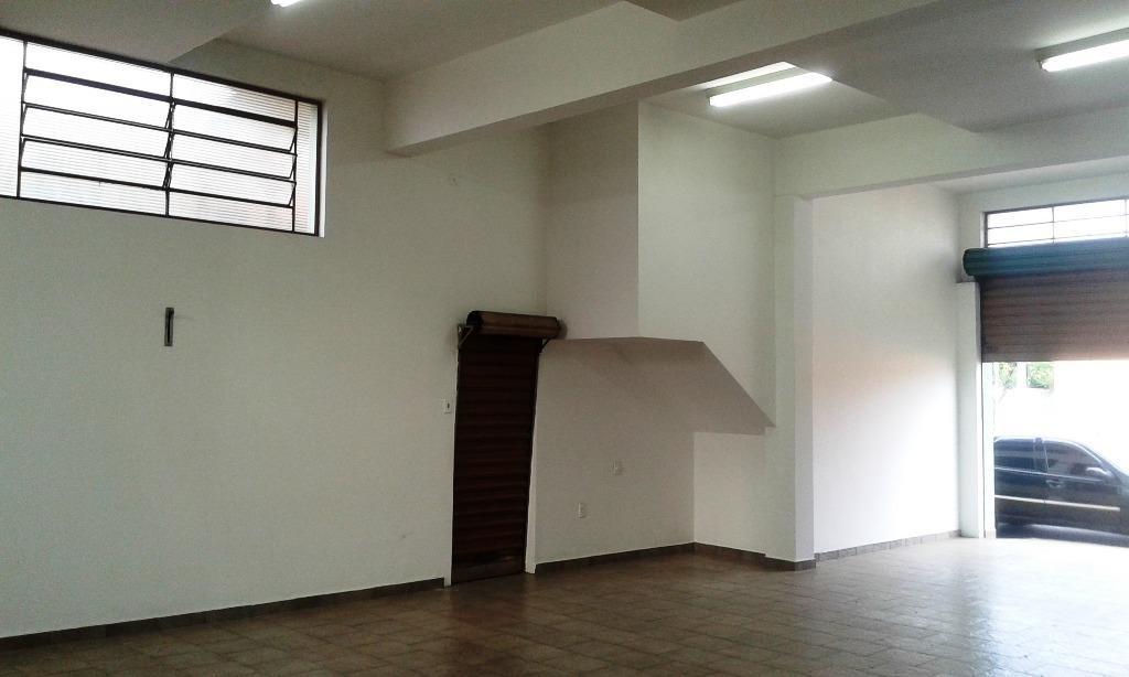 excelente localização, avenida movimentada, salão para alugar, 98 m² por r$ 2.500/mês - vila alemã - rio claro/sp - sl0010