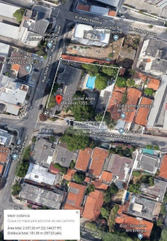 excelente localização de clínica em dionísio torres - ca1044