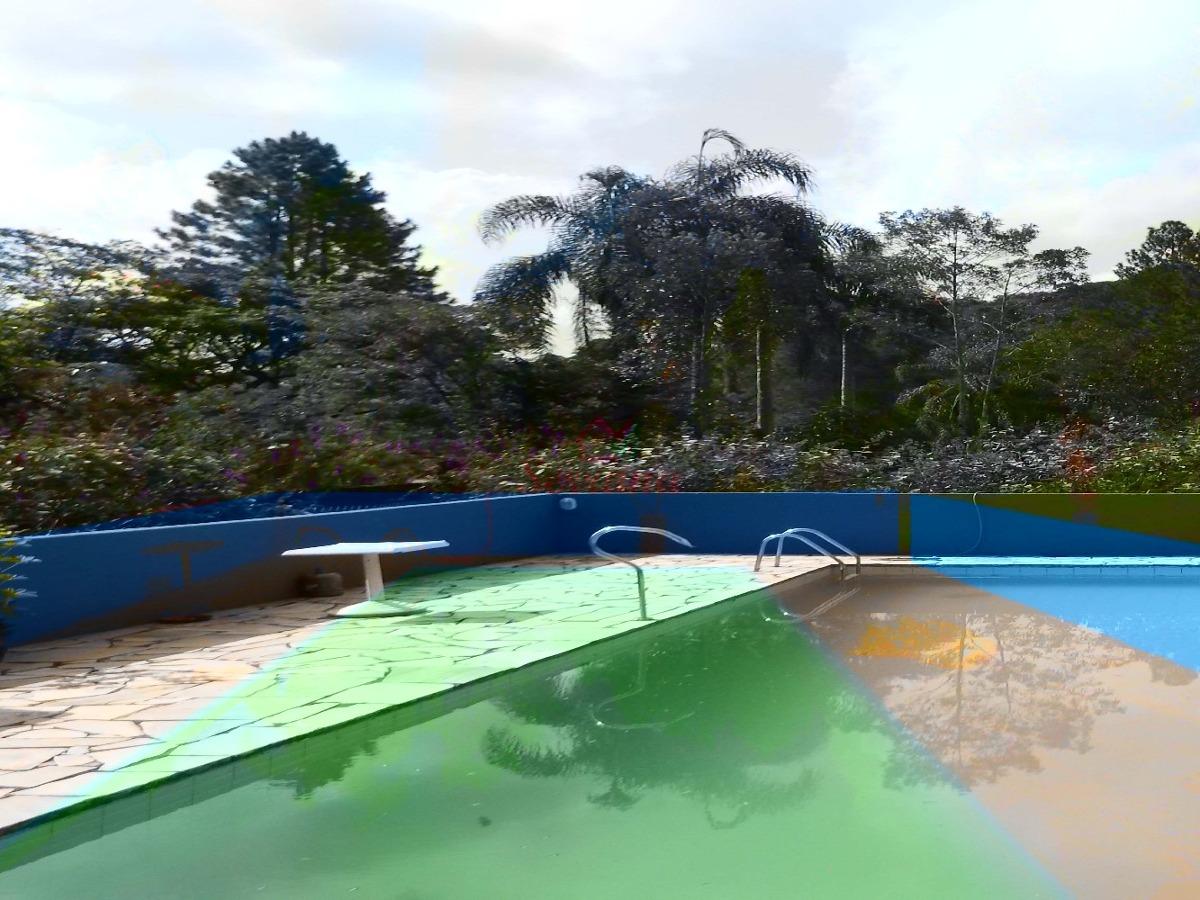 excelente localização em juquitiba chácara c piscina
