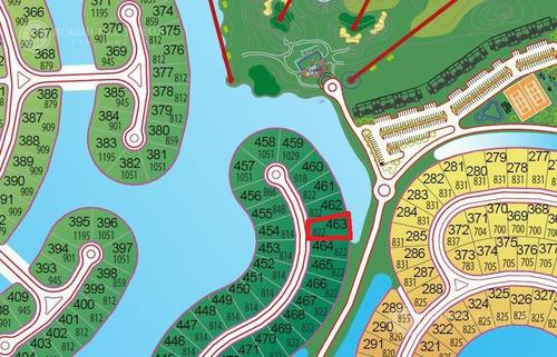 excelente lote a la laguna en barrio islas en el canton!