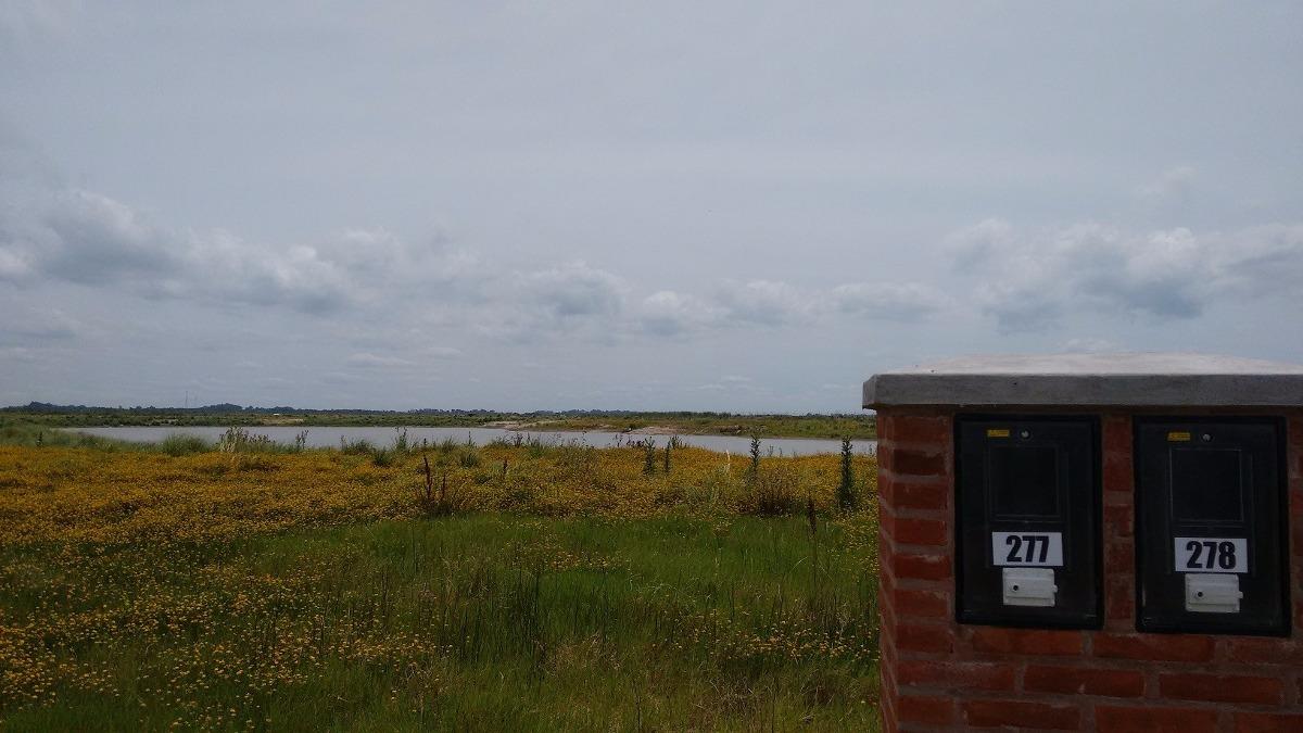 excelente lote a laguna mayor de area 7 orientacion norte
