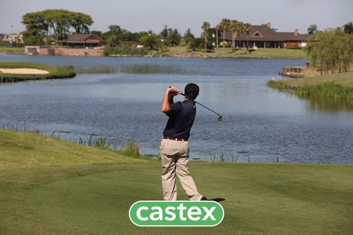 excelente lote al agua en lagos del golf