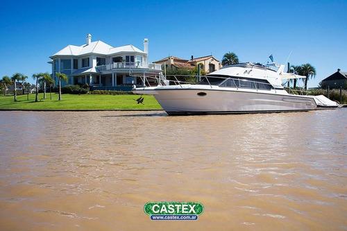 excelente lote al rio en el yacht