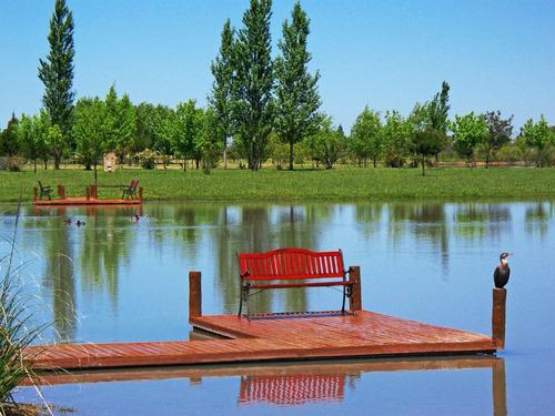 excelente lote barrio posada de los lagos- a la laguna
