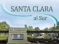 excelente lote barrio santa clara al sur -a la laguna