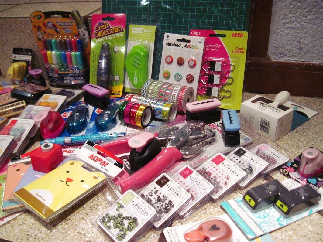 Excelente lote de accesorios material scrapbook - Accesorios para scrapbooking ...
