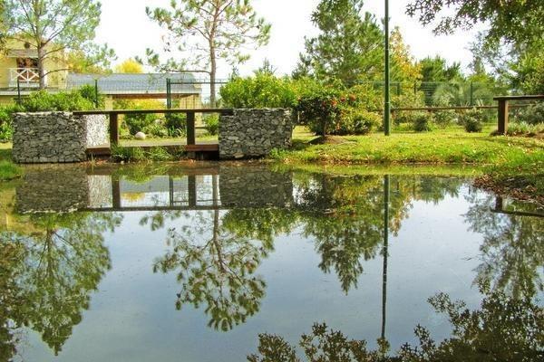 excelente lote en posada de los lagos - fondo al lago - coronel brandsen